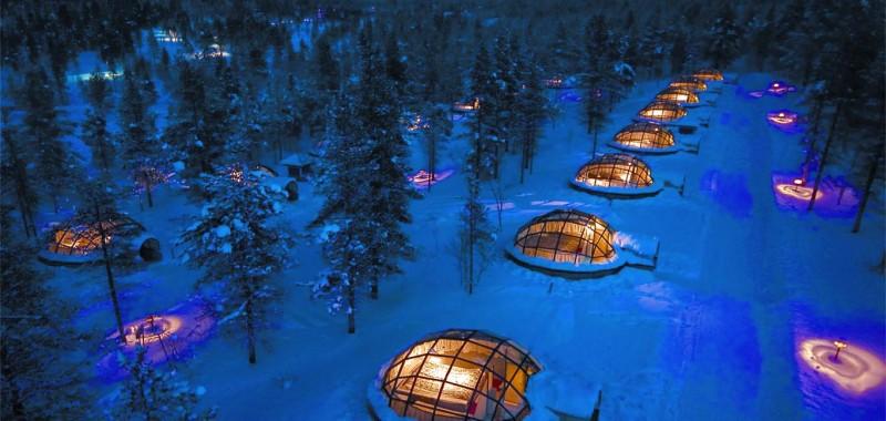 kakslauttanen igloo lifeandcook ou dormir en finlande