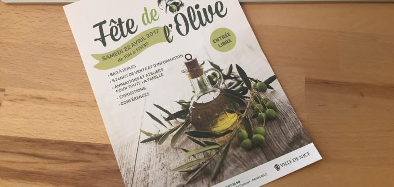 la fete de l'olive est à Nice le 22 avril prochain