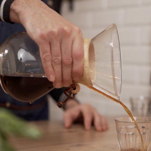 Faire un bon café filtre avec la Chemex