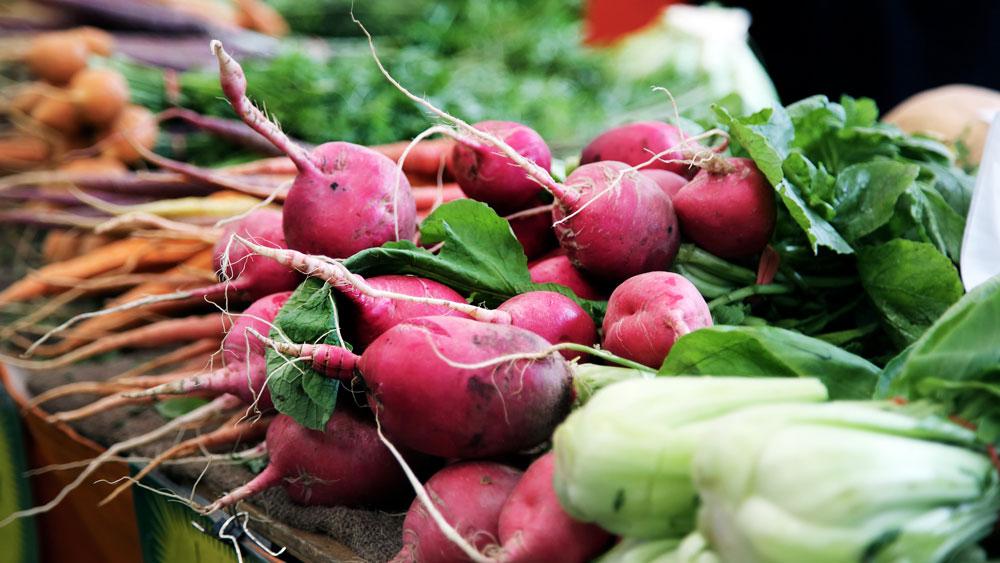 des légumes frais et de saison