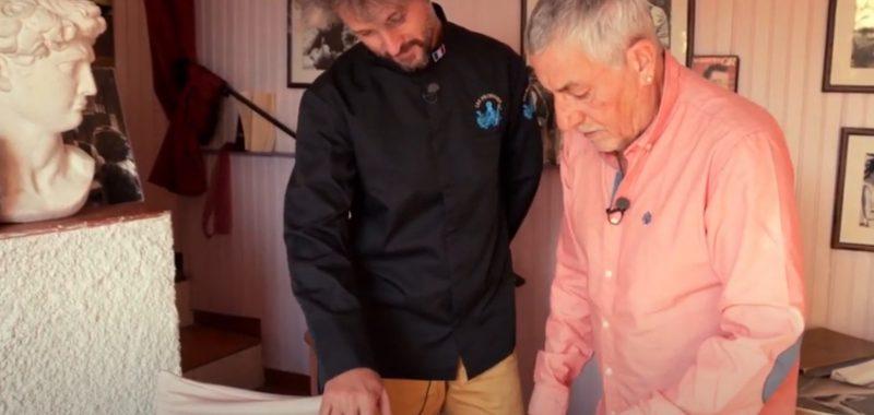 cyril Lorenzi, les poules en cuisine au petit port de Menton